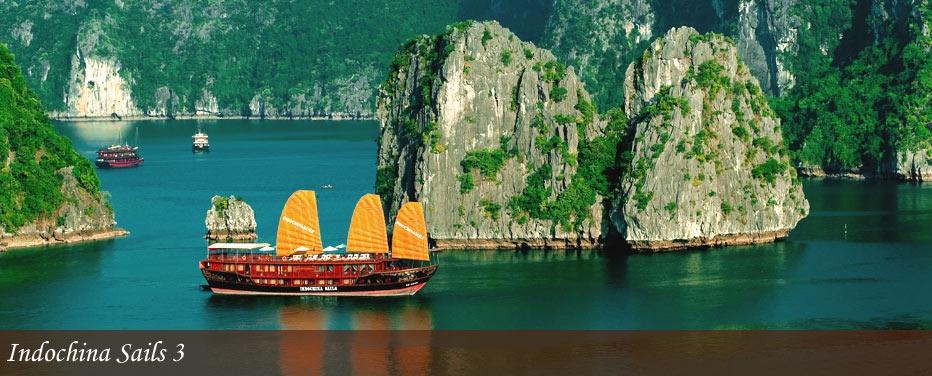 Halong 3 days indochina sails cruises