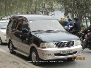 Hire car Vientiane- Vangvien-Luangprabang / 2days/ 1way