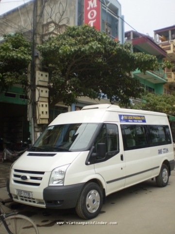 Van rental from Siemreap to HCM City | 1way | 1day