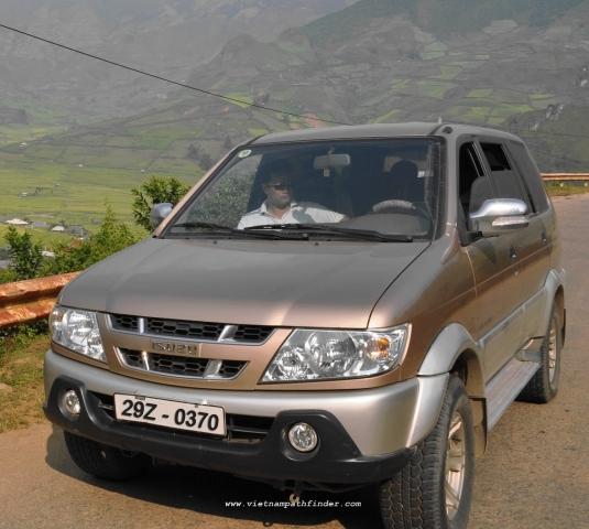 Hire Car Sapa- Dien Bien Phu / 1 way/ 1day