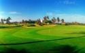 Golfing 9 holes at Danang Montgomerie Links