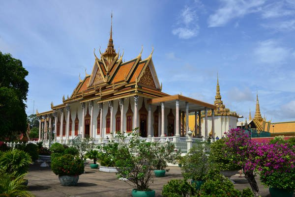 Royal palace -Phnompenh city