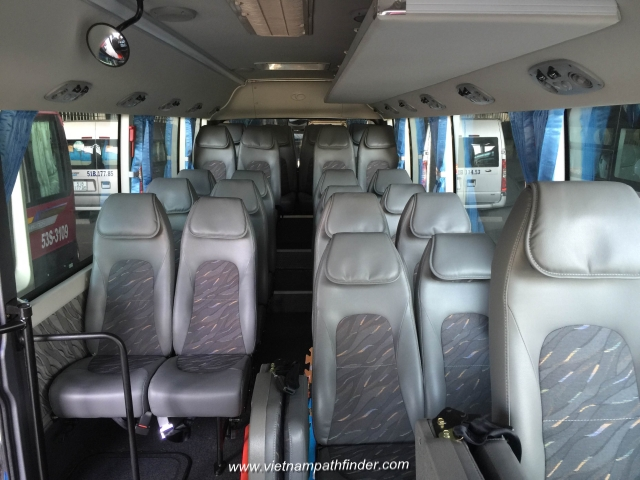 Vietnampathfinder car rental 30seats bus
